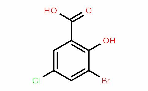 3-Bromo-5-chloro-2-hydroxybenzoic acid