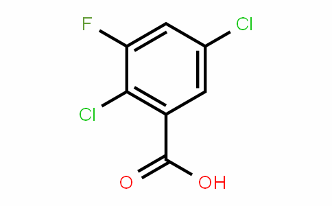 2,5-dichloro-3-fluorobenzoic acid