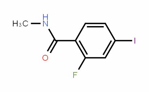 N-methyl-2-fluoro-4-iodobenzamide