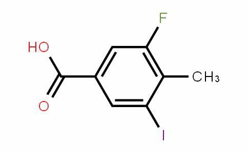 3-Fluoro-4-methyl-5-iodobenzoic acid