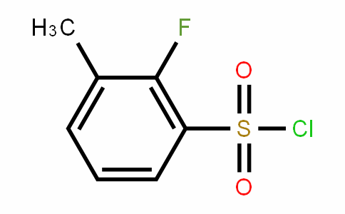 2-Fluoro-3-methylBenzenesulfonylchloride