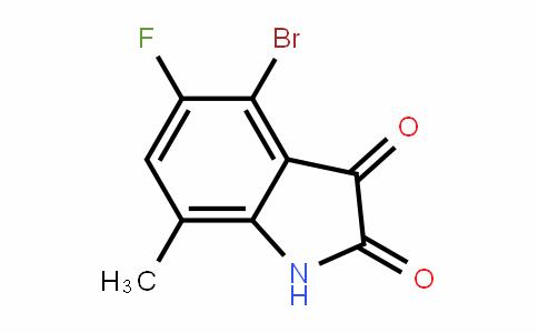 4-Bromo-5-fluoro-7-methyl Isatin
