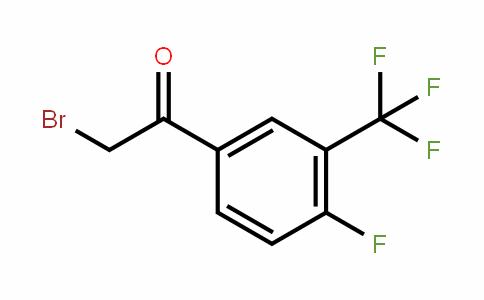 2-Bromo-4'-fluoro-3'-(trifluoromethyl)acetophenone