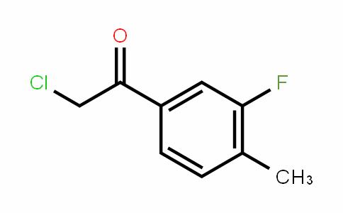 2-Chloro-3'-fluoro-4'-methylacetophenone