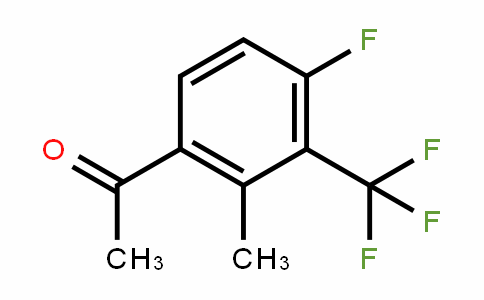 4'-Fluoro-2'-methyl-3'-(trifluoromethyl)acetophenone