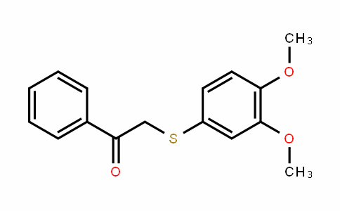 4-Methoxy-α-[(3-Methoxyphenyl)thio]acetophenone