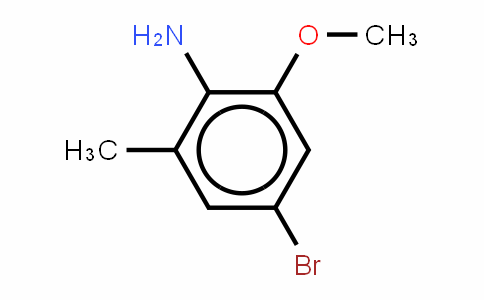 2-Amino-5-bromo-3-methylanisole[4-Bromo-2-methoxy-6-methylbenzenamine]