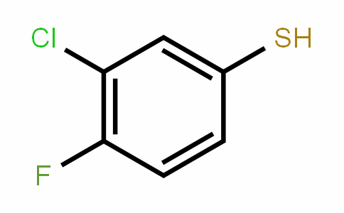3-Chloro-4-fluorothiophenol