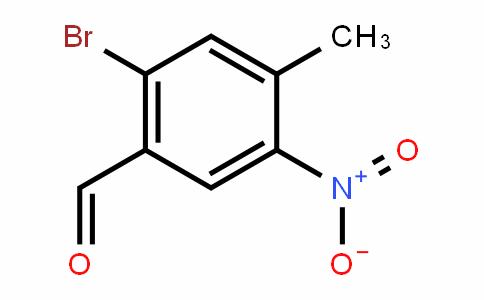 2-溴-4-甲基-5-硝基苯甲醛