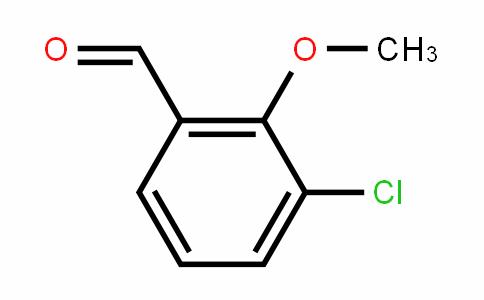 3-氯-2-甲氧基苯甲醛