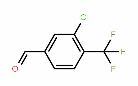 3-Chloro-4-(trifluoromethyl)benzaldehyde