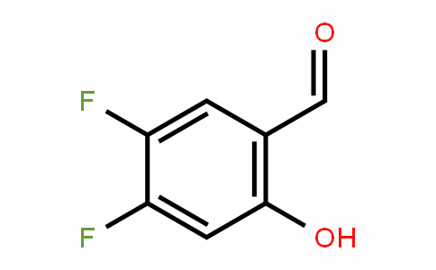 2-羟基-4,5-二氟苯甲醛