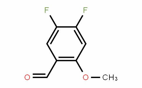 4,5-二氟-2-甲氧基苯甲醛