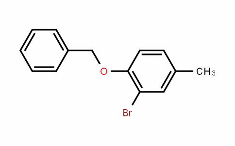 1-Benzyloxy-2-bromo-4-methylbenzene