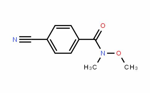 4-Cyano-N-methoxy-N-methylbenzamide