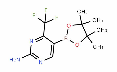 2-Amino-4-(trifluoromethyl)pyrimidine-5-boronic acid pinacol ester