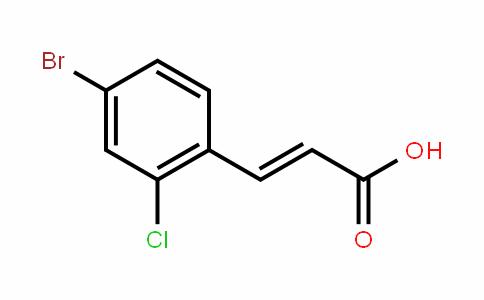 4-Bromo-2-chlorocinnamic acid