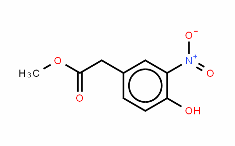 4-Hydroxy-3-nitro-phenylacetic acid methl ester
