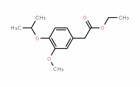 Ethyl 4-isopropoxy-3-methoxyphenylacetate