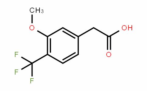 3-Methoxy-4-(trifluoromethyl)phenylacetic acid
