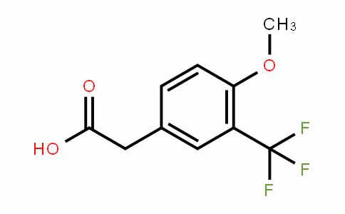 4-Methoxy-3-(trifluoromethyl)phenylacetic acid