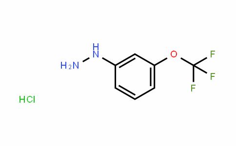 3-(Trifluoromethoxy)phenylhydrazine HCl