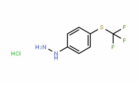 4-(Trifluoromethyl)thiophenylhydrazine HCl