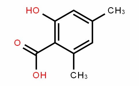 2-hydroxy-4,6-dimethylbenzoic acid