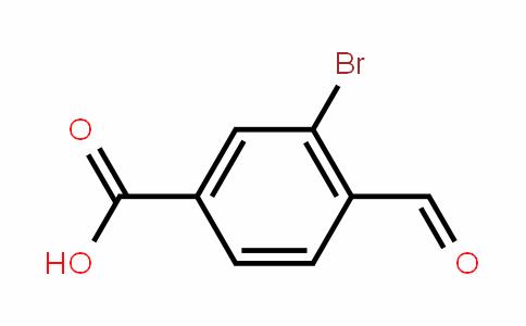 3-bromo-4-formylbenzoic acid