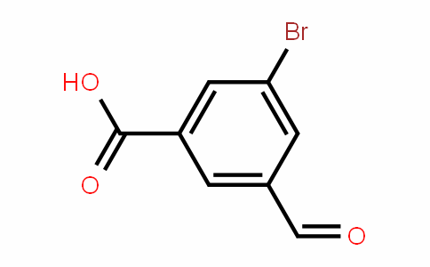 3-bromo-5-formylbenzoic acid