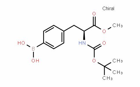 (S)-4-(2-(tert-butoxycarbonylamino)-3-methoxy-3-oxopropyl)phenylboronic acid