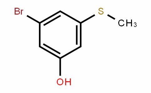 3-bromo-5-(methylthio)phenol