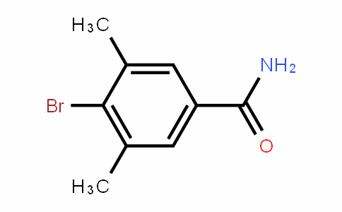 4-Bromo-3,5-dimethyl-benzamide