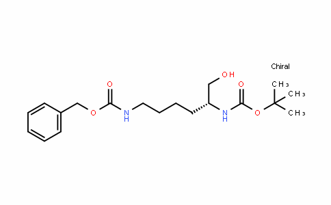 (R)-(5-tert-Butoxycarbonylamino-6-hydroxy-hexyl)-carbamic acid benzyl ester