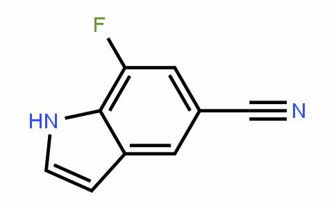 7-Fluoro-1H-indole-5-carbonitrile