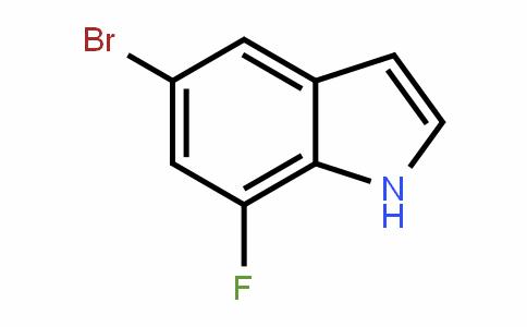 5-溴-7-氟吲哚
