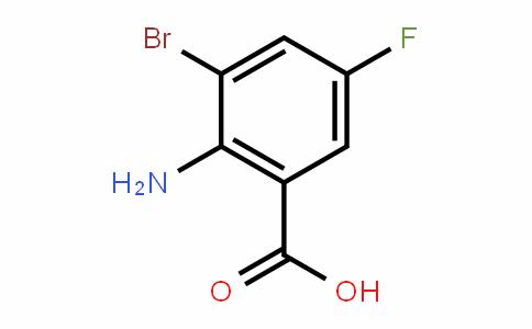 2-Amino-3-bromo-5-fluorobenzoic acid