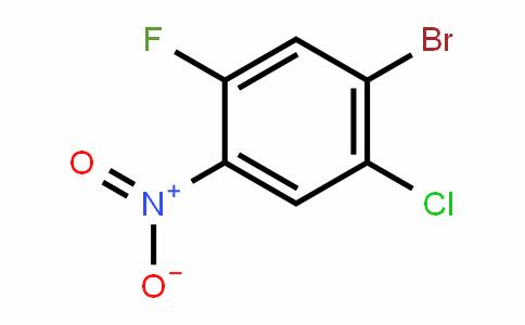 1-Bromo-2-chloro-5-fluoro-4-nitrobenzene
