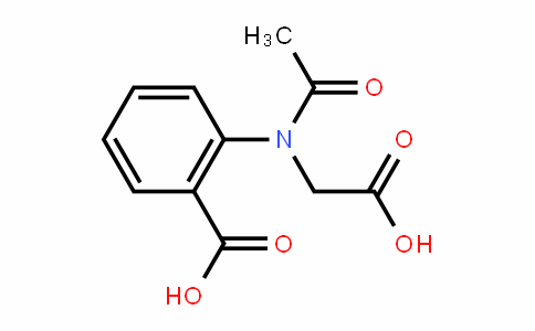 2-(ACETYL-CARBOXYMETHYL-AMINO)-BENZOIC ACID
