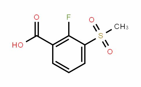 2-Fluoro-3-(methylsulfonyl)benzoic acid