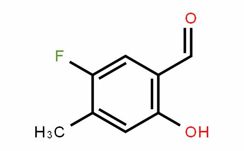 5-Fluoro-2-hydroxy-4-methyl-benzaldehyde