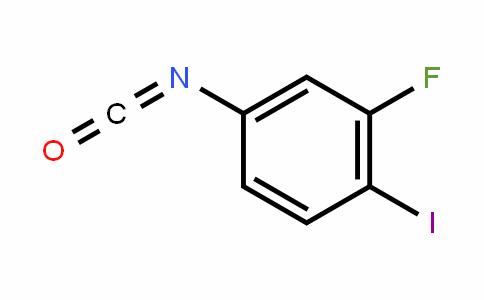 2-Fluoro-1-iodo-4-isocyanatobenzene