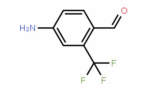 4-Amino-2-(trifluoromethyl)benzaldehyde