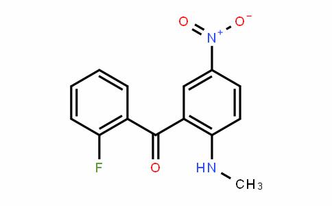 2'-Fluoro-2-methylamino-5-nitrobenzophenone