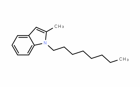 2-Methyl-1-octylindole