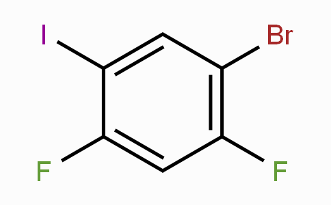 2,4-二氟-5-溴碘苯