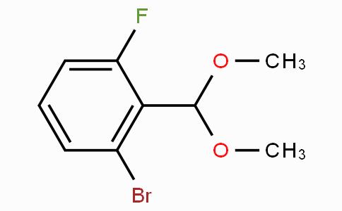2-Bromo-6-fluorobenzaldehyde dimethyl acetal