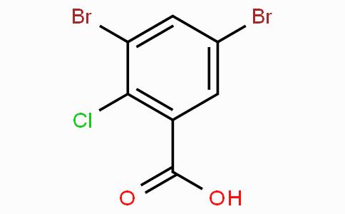 2-Chloro-3,5-dibromobenzoic acid