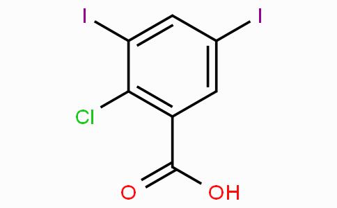 2-Chloro-3,5-diiodobenzoic acid