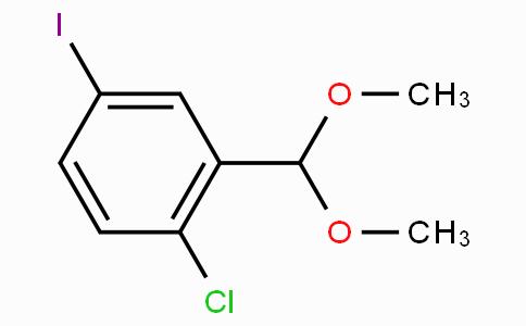 2-Chloro-5-iodobenzaldehyde dimethyl acetal
